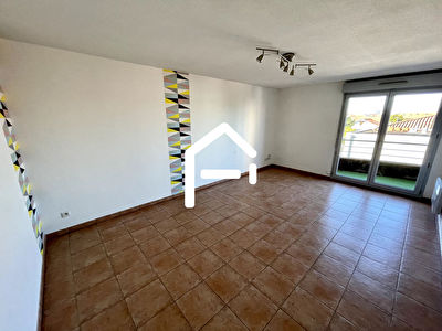 À louer : Appartement T3 62m²  , TOULOUSE Minimes / Raisins , PARKING + TERRASSE + CELLIER