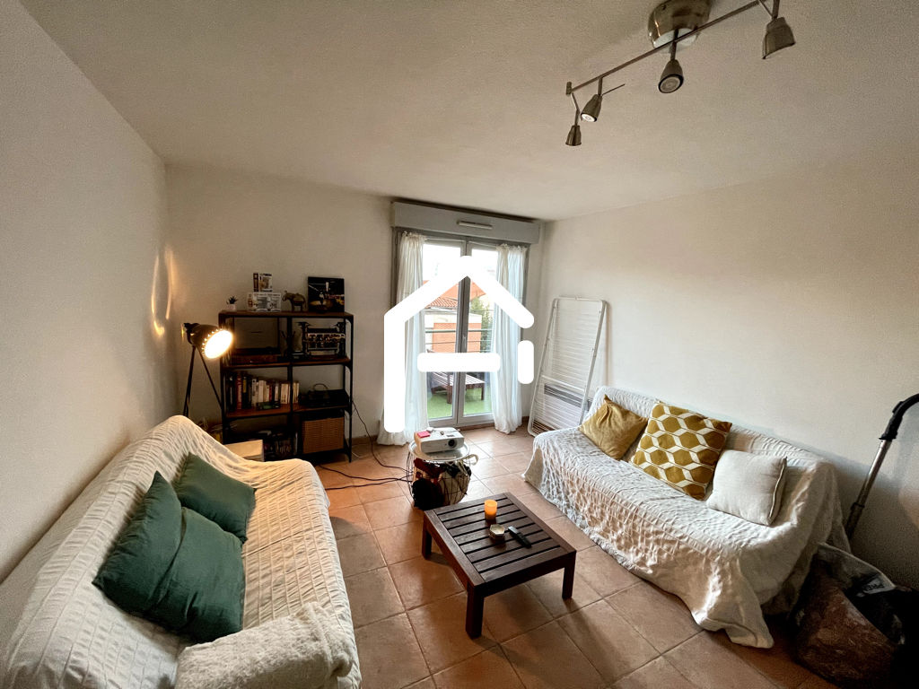 À louer : Appartement T3 62m²  , TOULOUSE Minimes / Raisins , PARKING + TERRASSE + CELLIER 3/10