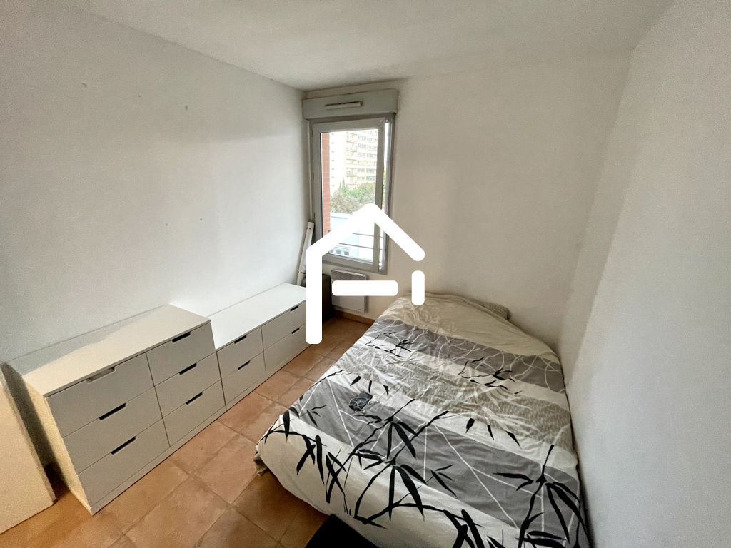À louer : Appartement T3 62m²  , TOULOUSE Minimes / Raisins , PARKING + TERRASSE + CELLIER 5/10